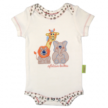 Infant Applique Trio Crawler