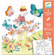 Djeco Colouring Surprise Lady Butterfly