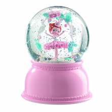 Ballerina Snowglobe Night Light